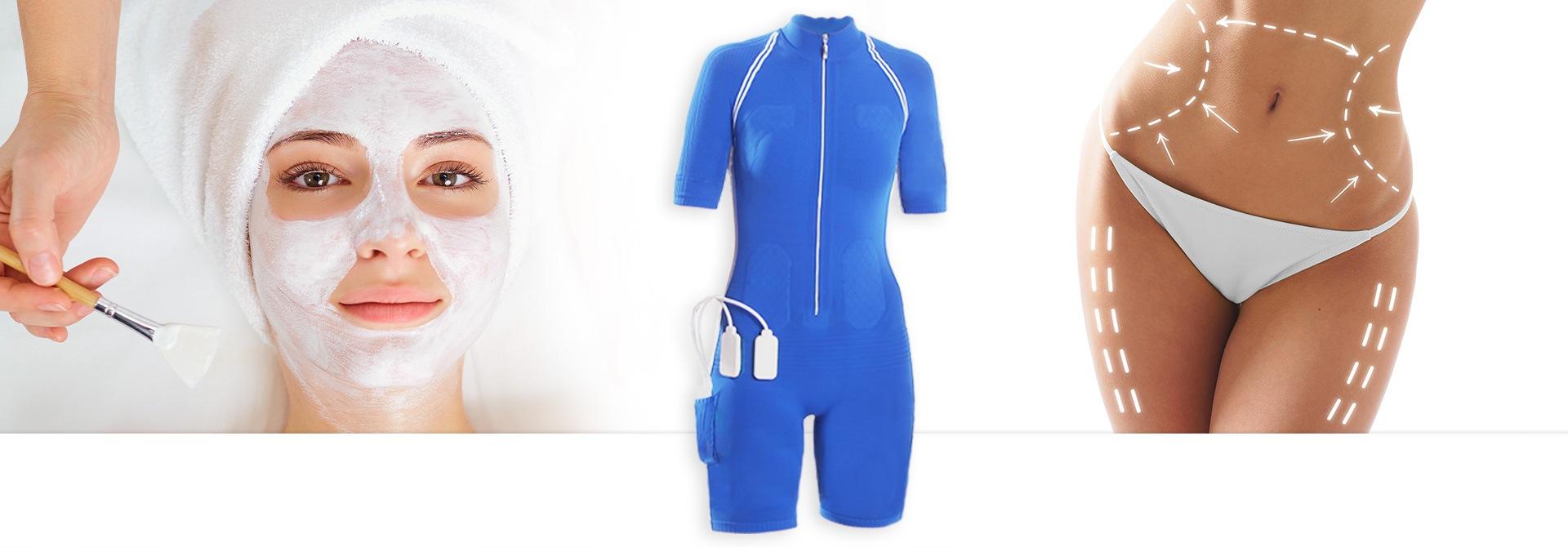 EMS Training in Kombination mit Schönheitschirgurgie BIld des Anzug